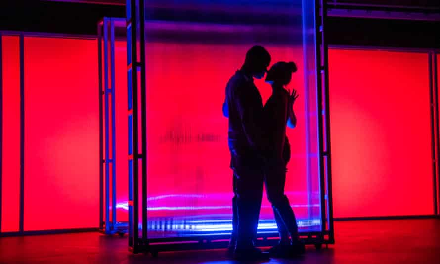 Way back in February … Caleb Roberts and Charlotte Bate in I Think We Are Alone by Frantic Assembly and Theatre Royal Plymouth.