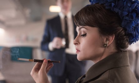 Helena Bonham Carter en la corona