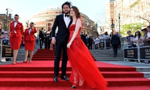 Game of Thrones actors Kit Harington and Rose Leslie
