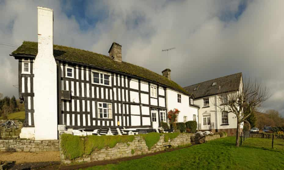 Rhydspence Inn.