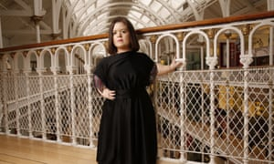 Sinéad Burke at the National Museum of Scotland, which is holding an exhibition on diversity in fashion.