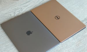 Apple's 13in MacBook Pro alongside Dell's XPS 13, just two of Aileen's options.