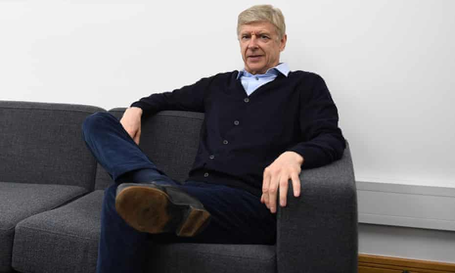 Arsène Wenger says he feels rested after some time away from the game following 22 years in charge at Arsenal.