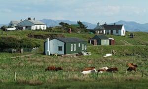 Port Mor on the Island of Muck, Highland, Scotland, UK.