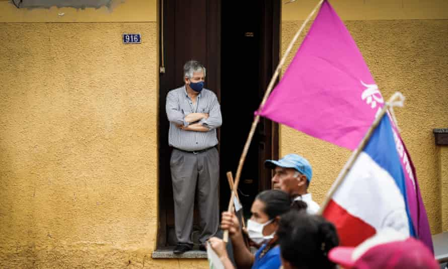 Protests have taken place in Asunción, Paraguay, to demand the resignation of President Mario Abdo Benitez over his handling of the pandemic.
