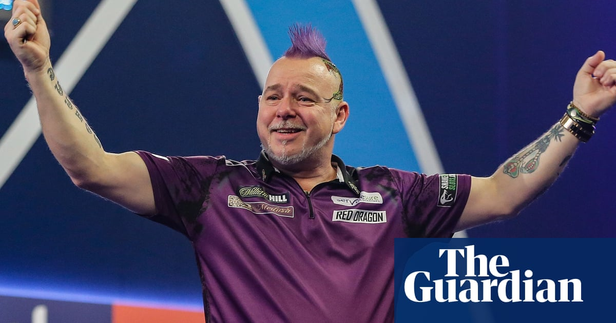 Peter Wright's romantic tale from darts nearly man to world champion | Jonathan Liew