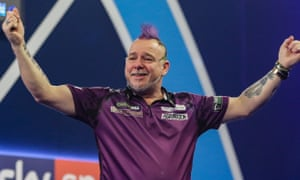 Peter Wright's decision to return to the sport paid off on the biggest stage with victory at the PDC world darts championship.