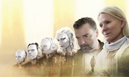 Brendan Coyle and Hermione Norris starred in I, Robot.