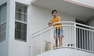 Andrew Cunanan, played by Darren Criss, in  The Assassination of Gianni Versace.