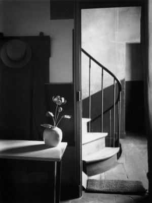 Mondrian's studio, Paris 1926