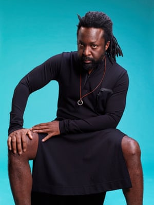 Marlon James photographed in New York.