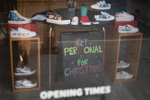 Get Personal for Christmas, on the King's Road
