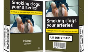 Standardised tobacco packaging