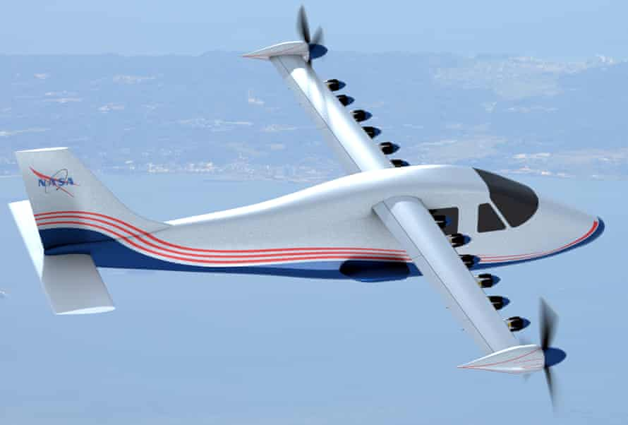 Nasa's all-electric X-57 Maxwell