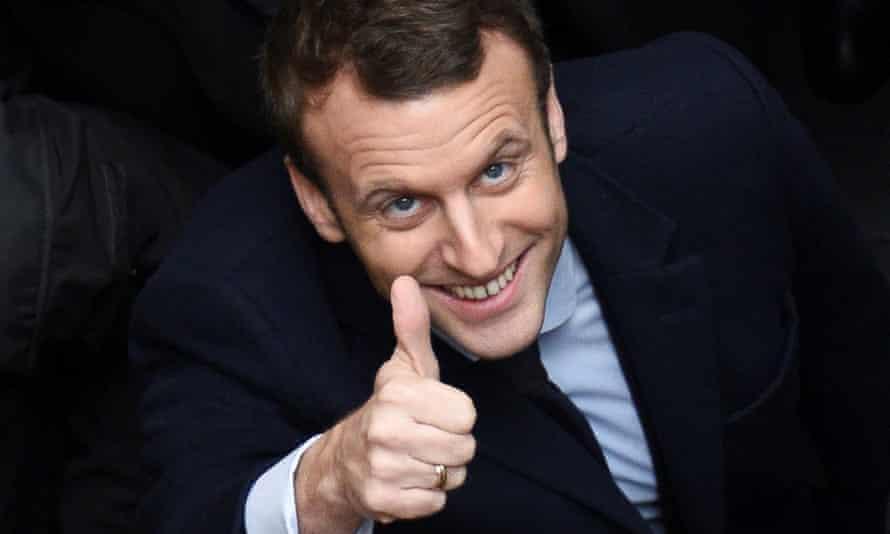 Emmanuel Macron: new French president