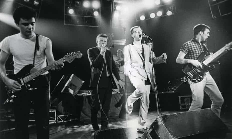 'Legend has it that's why we all got short hair at that time ...' Performing in 1985.
