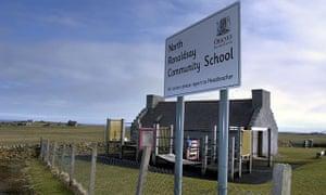 North Ronaldsay school