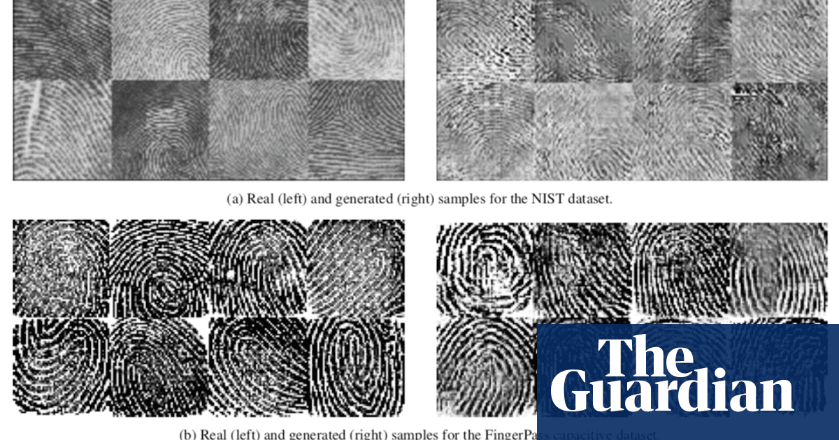 Fake fingerprints can imitate real ones in biometric systems
