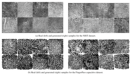 DeepMasterPrints fingerprints Generating MasterPrints for Dictionary Attacks via Latent Variable Evolution