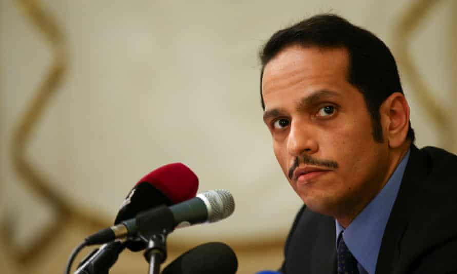 Qatari foreign minister Sheikh Mohammed bin Abdulrahman al-Thani has rejected a list of demands from four Arab states.