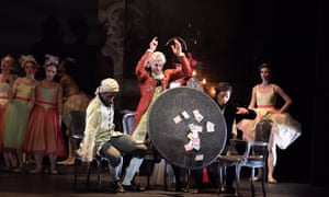 Junor Souza, James Streeter and Jeffrey Cirio in Manon.