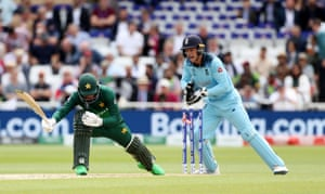Fakhar, stumped by Buttler for 36.