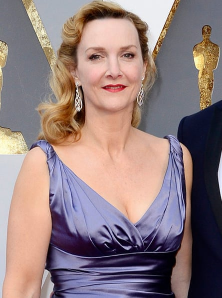Sian Grigg in long purple dress