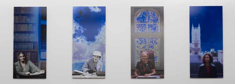 Portraits by Catherine Yass celebrate 100 years of women in the legal profession