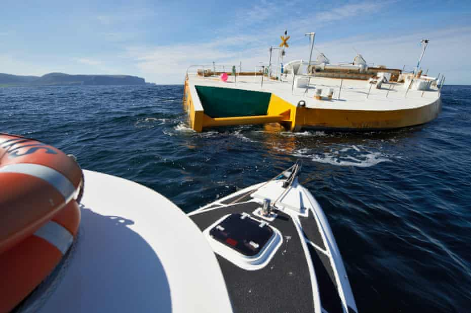 The Penguin wave energy converter has survived a year at sea during tests