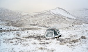 Eowyn Ivey enjoys camping out in Alaska's mountains.