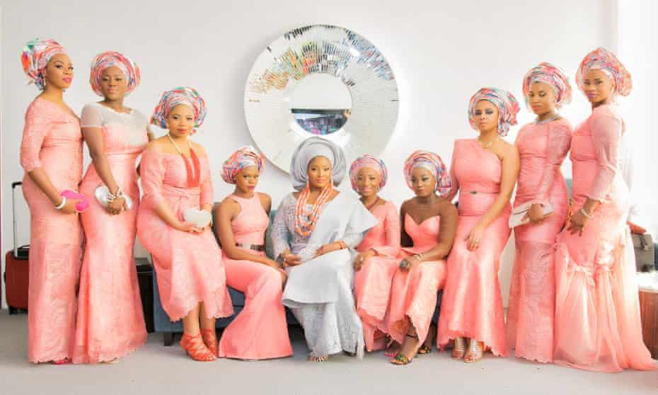 Bridal party 'squad goals'