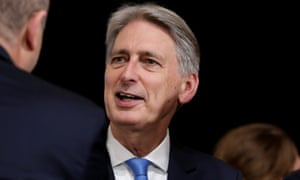 Philip Hammond at the IMF annual meeting in Washington.