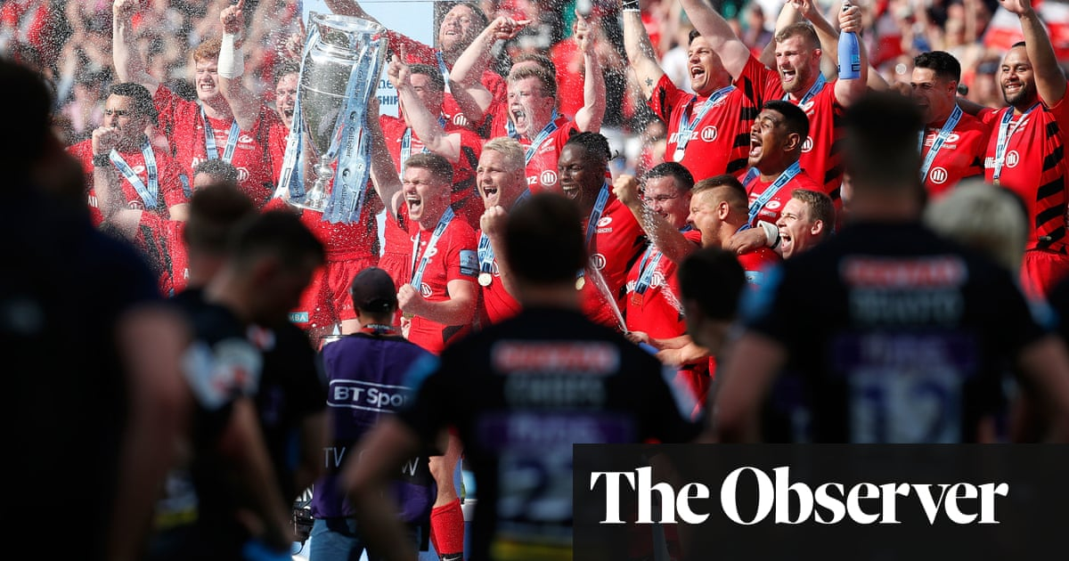 What Exeter really think of Saracens: They won those titles by cheating