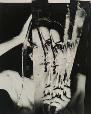Carolee Schneemann's Eye Body #11, 1963.