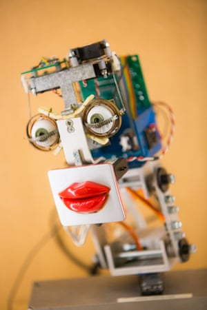 Inkha is the sassy robotic receptionist that greeted visitors to King's College London, from 2003 until 2015. All eyes and lips, the robot dispensed directions, information and plenty of attitude when its sarcasm setting was turned up.