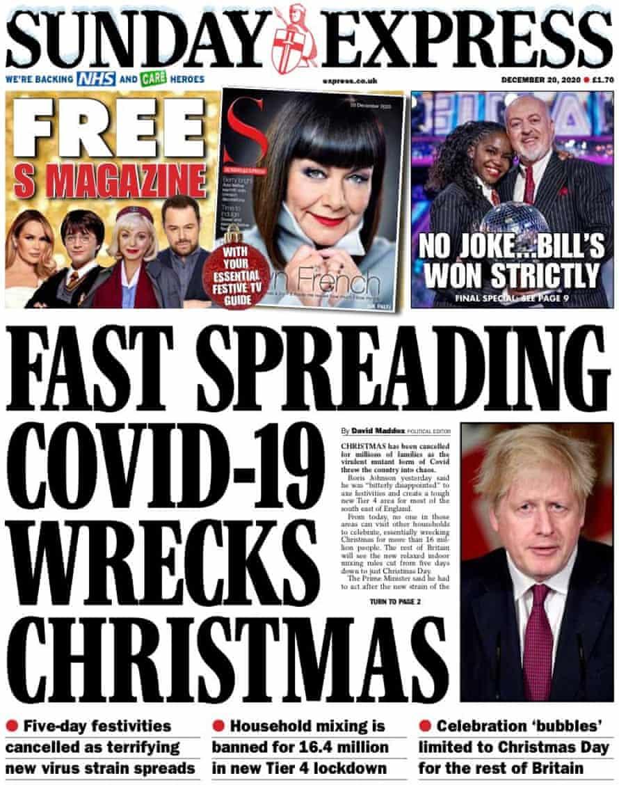 Sunday Express, 20 December 2020