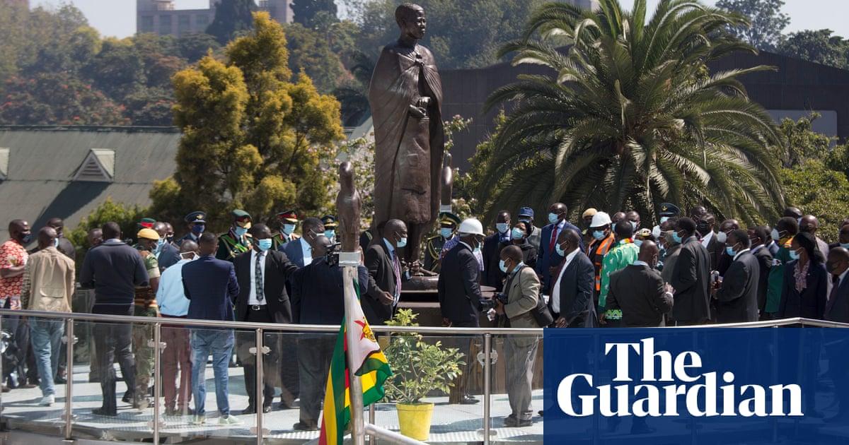 Anger in Zimbabwe at Nehanda statue amid collapsing economy