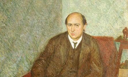 Portrait of Arnold Schoenberg by Richard Gerstl