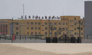 Facility believed to be a re-education camp where mostly Muslim ethnic minorities are detained.