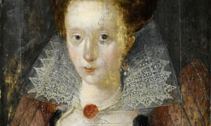 'Love is true virtue, and his ends delight' … a 1607 portrait thought to be of Lady Mary Wroth