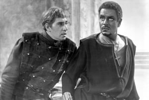 Quiet realism … Frank Finlay as Iago with Laurence Olivier as Othello in the 1965 film.