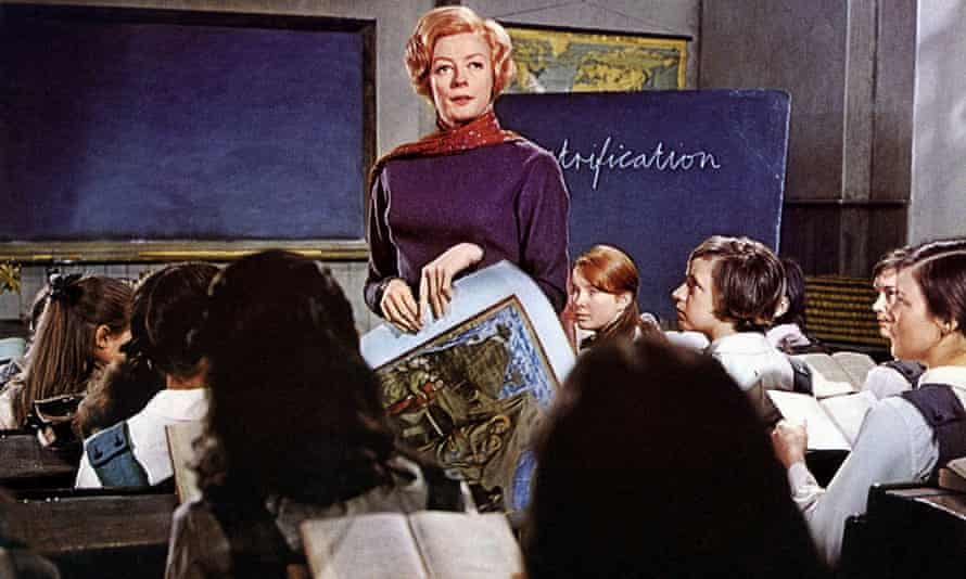 Maggie Smith in the 1969 film of The Prime of Miss Jean Brodie.