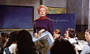 Maggie Smith in the 1969 film adaptation of The Prime of Miss Jean Brodie.