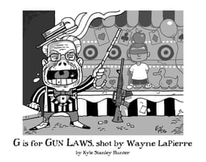 G is for Gun Laws, shot by Wayne LaPierre