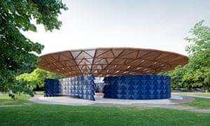 Francis Kéré's Serpentine pavilion