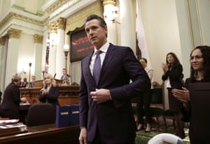 California governor Gavin Newsom has said the current plan is too expensive.