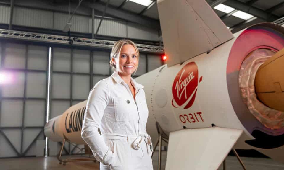 Melissa Thorpe, head of Spaceport Cornwall.