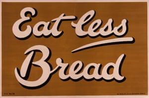 East less bread – 1917.