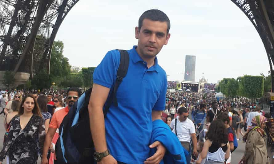 Ahmad al-Rashid, who risked the journey from Syria to live in the UK.