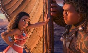 Film still from Disney's Moana.